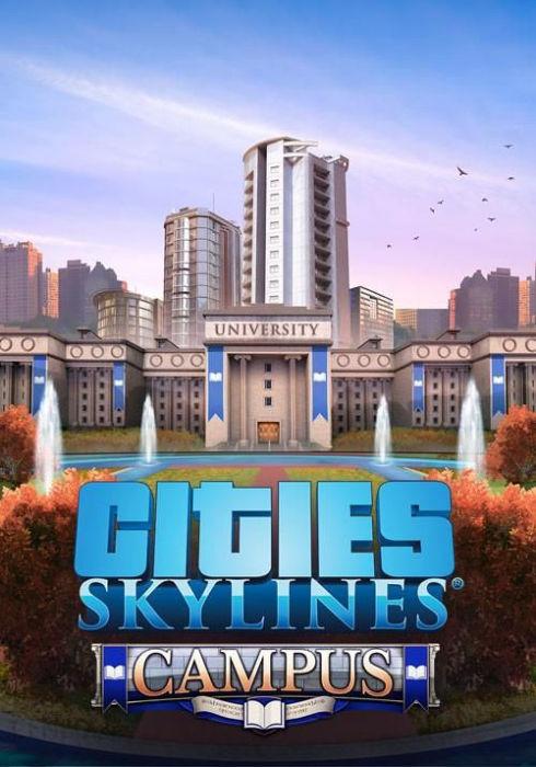 Cities Skylines: Campus - Klucz aktywacyjny Steam Automatyczna wysyłka w ciągu 5 minut 24/7!
