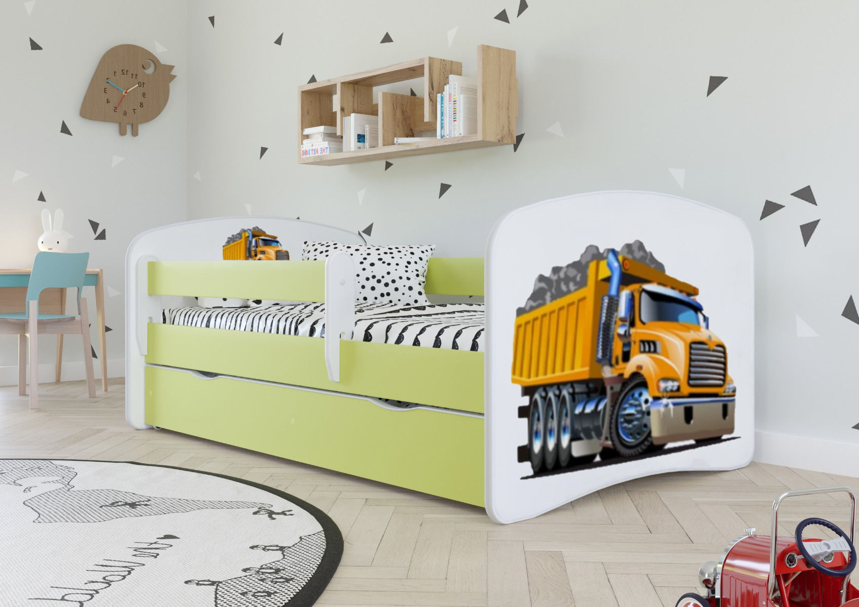 Łóżko dziecięce BABY DREAMS ciężarówka 160x80