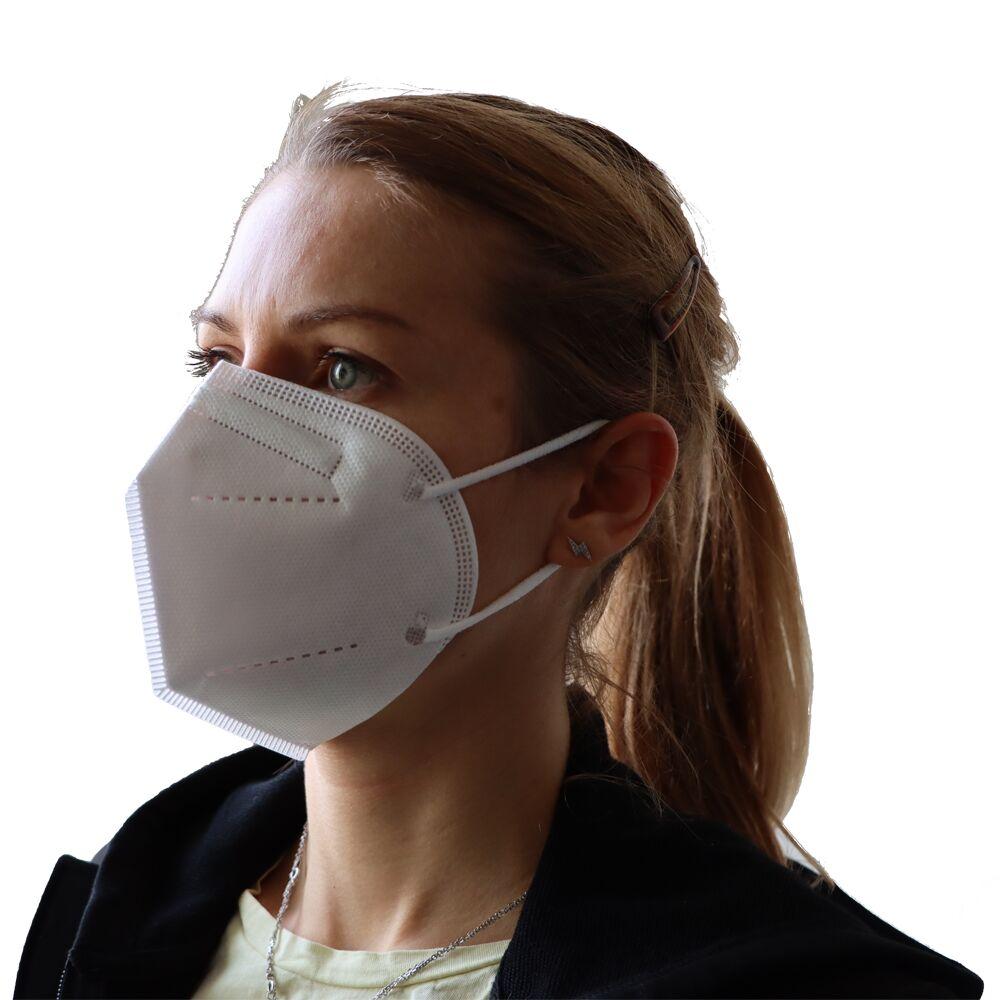 Maska medyczna TW PLAST model F, 98% filtracji (3 szt. w opak.)