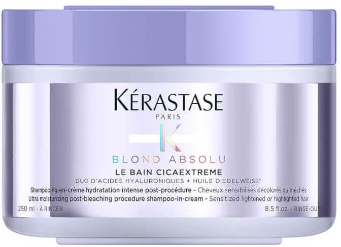 Kerastase Blond Absolu Cicaextreme Kąpiel intensywnie nawilżająca w kremie do włosów blond 250ml