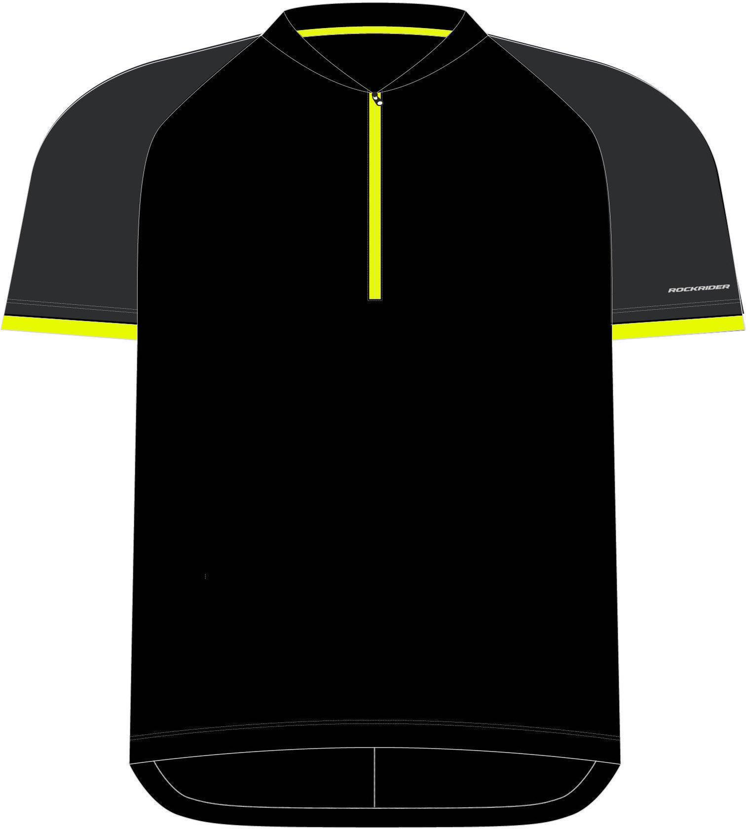 Koszulka krótki rękaw na rower 500 dla dzieci