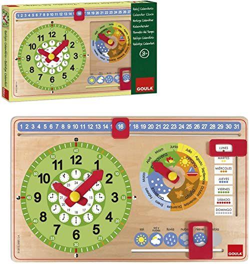 Goula Zegar kalendarzowy (51315) [Produkt w języku hiszpańskim]