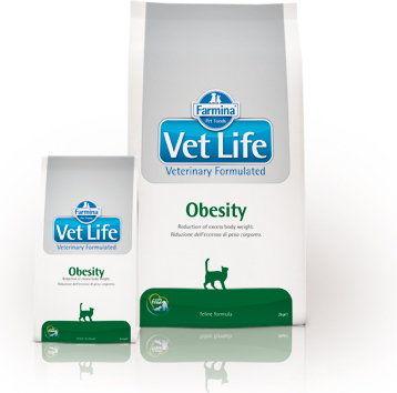 Farmina Vet Life Obesity 400g Cat
