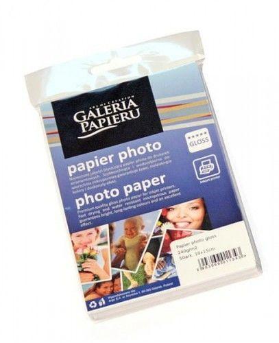 Papier photo 10x15cm - glossy - 240 g/m2 - 50 ark