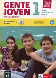 Gente Joven 1. Kurs hiszpańskiego, klasa 7 ZAKŁADKA DO KSIĄŻEK GRATIS DO KAŻDEGO ZAMÓWIENIA