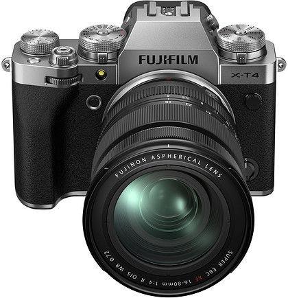 Aparat Fujifilm X-T4 srebrny + 16-80