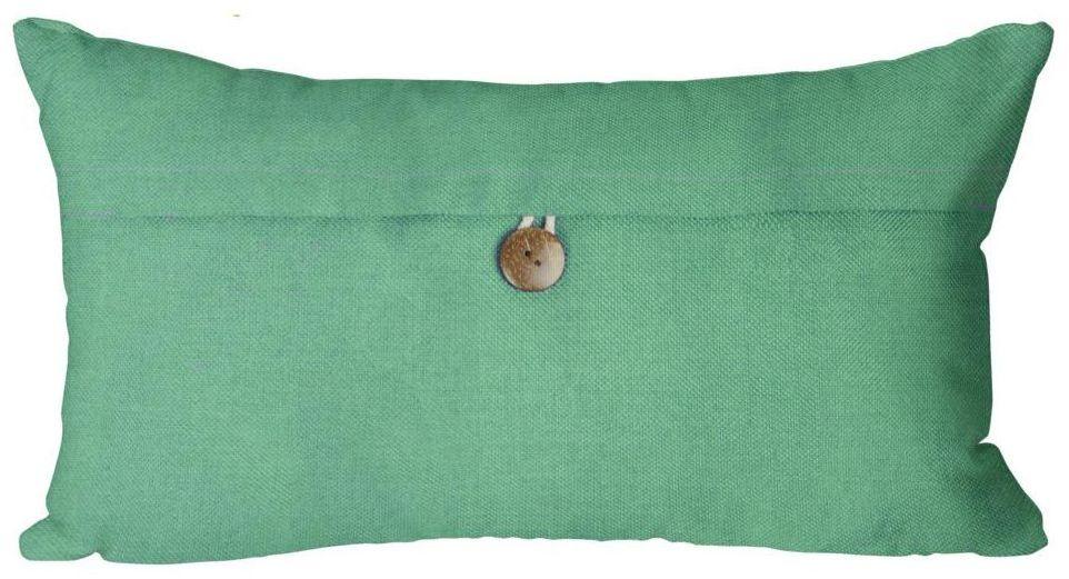 Poduszka Vintage zielona 50 x 30 cm