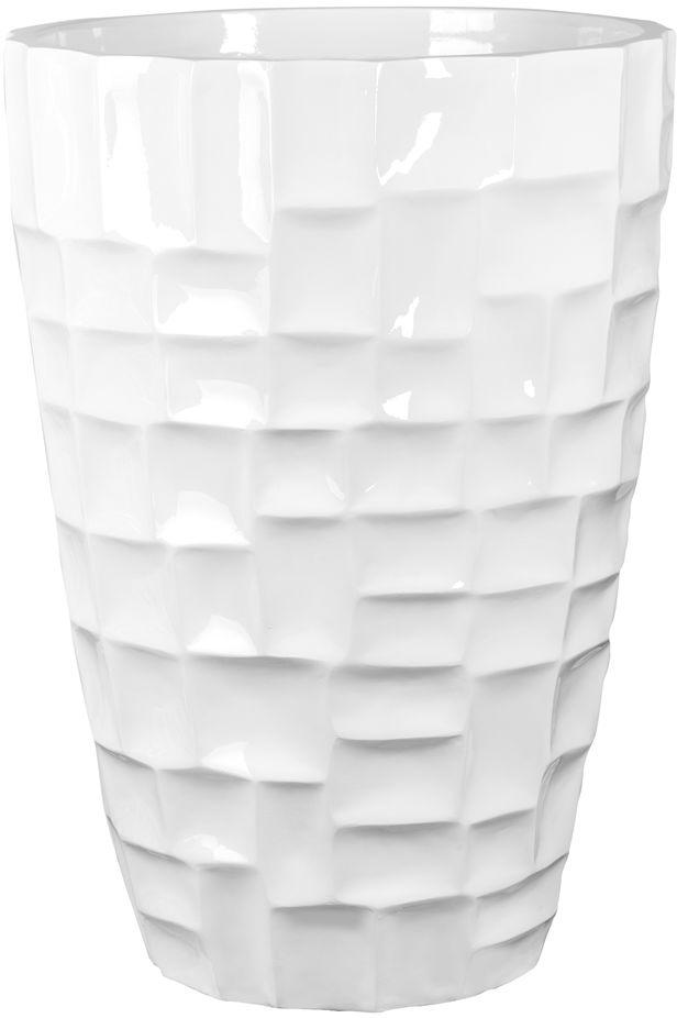 Donica z włókna szklanego D104C biały połysk
