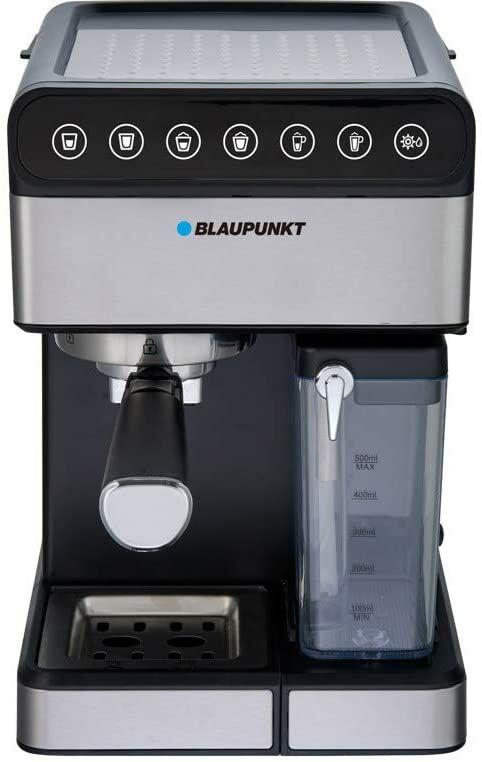 Blaupunkt CMP601 Maszyna do Kawy Espresso, Czarna/Srebrna, Stal Nierdzewna