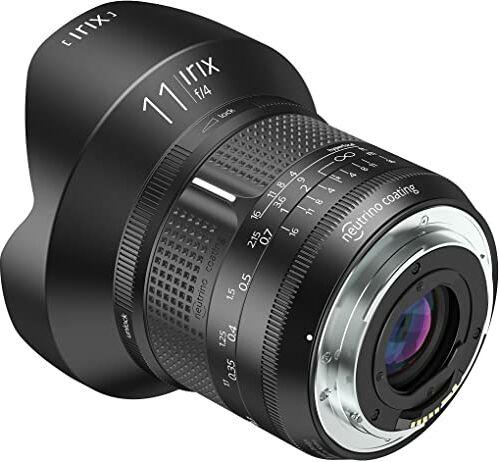 """Irix IL-11FF-PK ultraszerokokątny obiektyw Firefly 11 mm""""f4"""" do Pentax K (pełnoklatkowy, bardzo lekki, zoptymalizowany pierścień ogniskowy) czarny"""