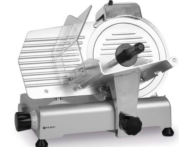 Hendi Elektryczna krajalnica do wędlin 250 W z nożem 300 mm - kod 210246