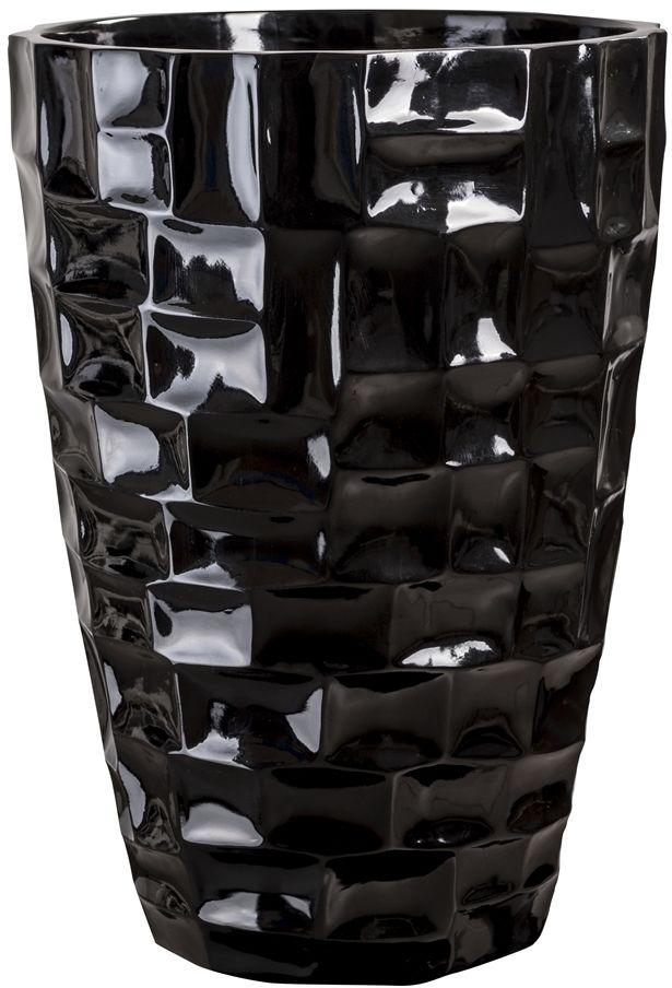 Donica z włókna szklanego D104C czarny połysk