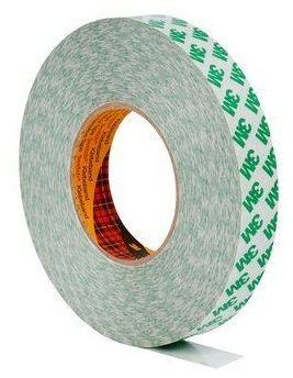 3M 9087 dwustronna klejąca taśma, 9 mm x 50 m, tl. 0,26 mm (zielone logo)
