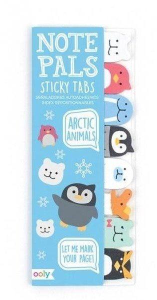 Karteczki samoprzylepne Arktyczne Zwierzątka - Kolorowe Baloniki