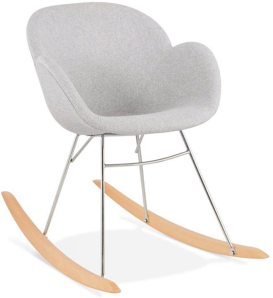 Kokoon design - fotel bujany toggle, szary