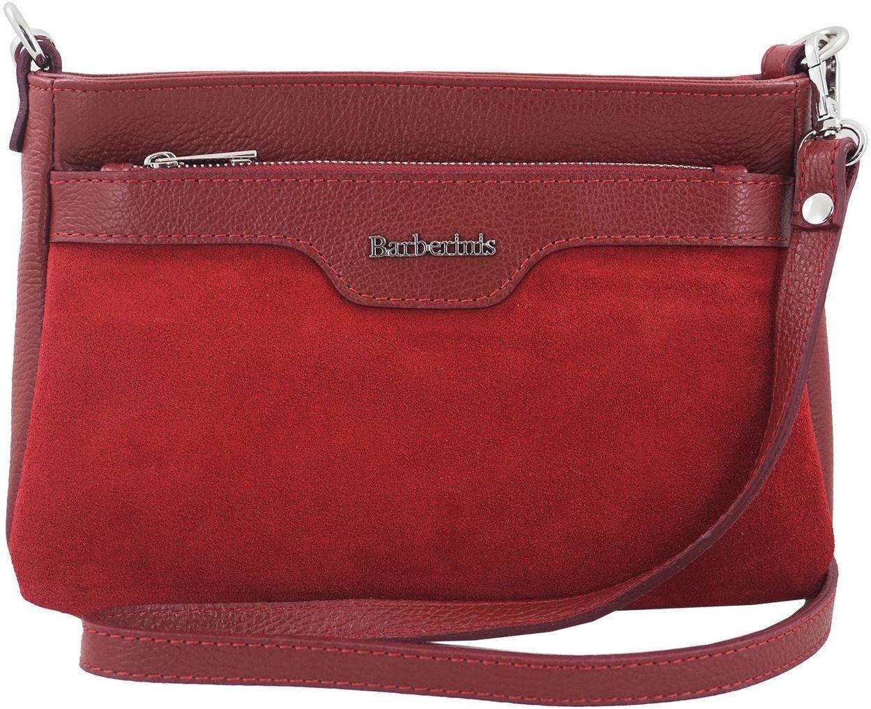 Wizytowa torebka damska skórzana - Czerwona