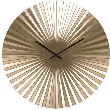 Zegar ścienny Sensu steel gold 50 by Karlsson