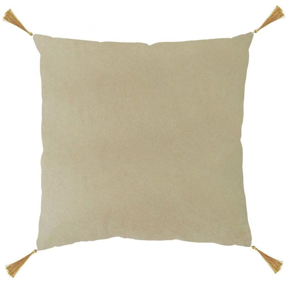 Poduszka z frędzlami Nemo beżowa 40 x 40 cm