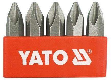 Zestaw bitów do wkrętaków udarowych ph2 x 5 szt Yato YT-2810 - ZYSKAJ RABAT 30 ZŁ