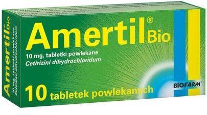 Amertil Bio 10mg 10 tabletek