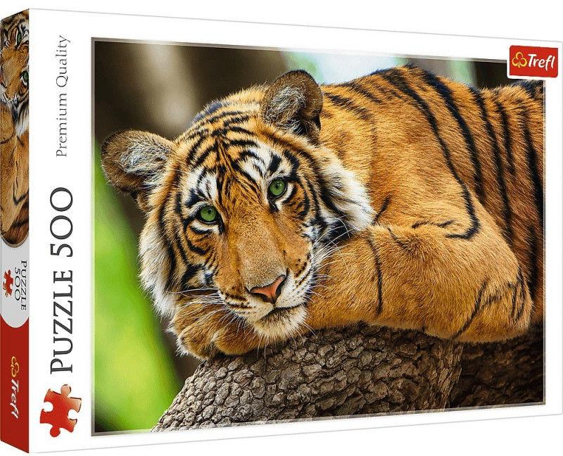Puzzle 500 elementów Portret tygrysa