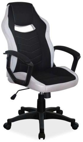 Fotel biurowy CAMARO czarny/szary  Kupuj w Sprawdzonych sklepach