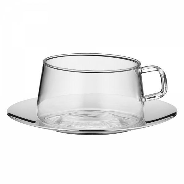 WMF Clever&More - Filiżanka ze Stalowym Spodkiem do Kawy, Herbaty