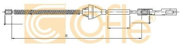 linki hamulca ręcznego Focus Mk2 - Cofle