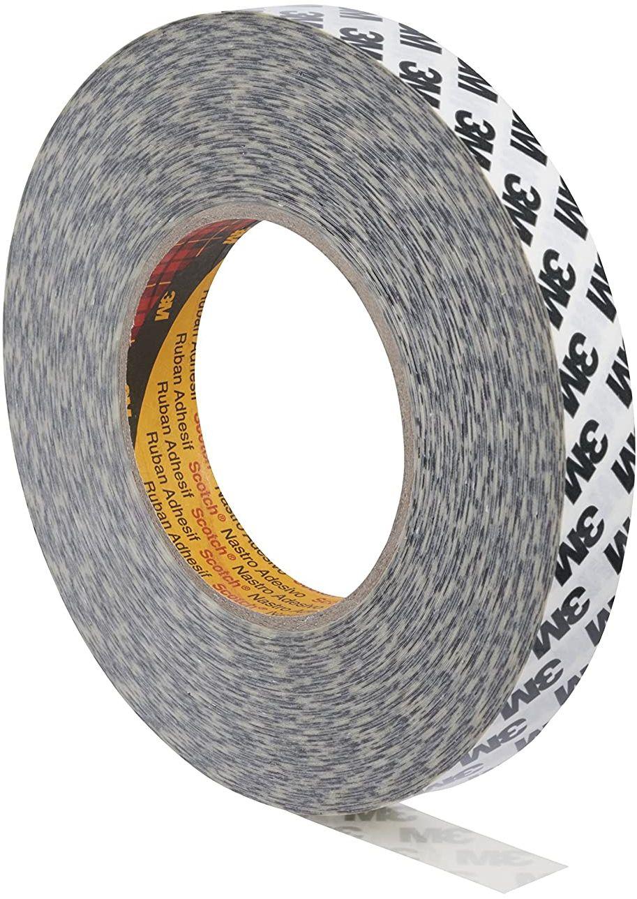 3M 9086 dwustronna klejąca taśma, 9 mm x 50 m, tl. 0,19 mm (czarne logo)
