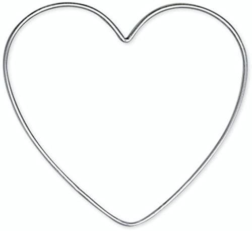 Knorr Prandell 20 cm 1 szt. drut serce srebrny