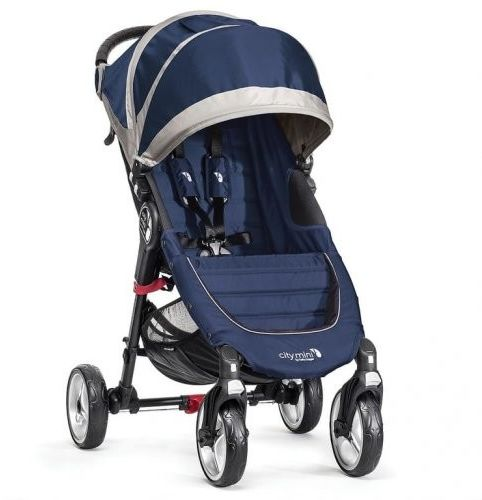 Wózek Baby Jogger City Mini 4W - Cobalt / Grey