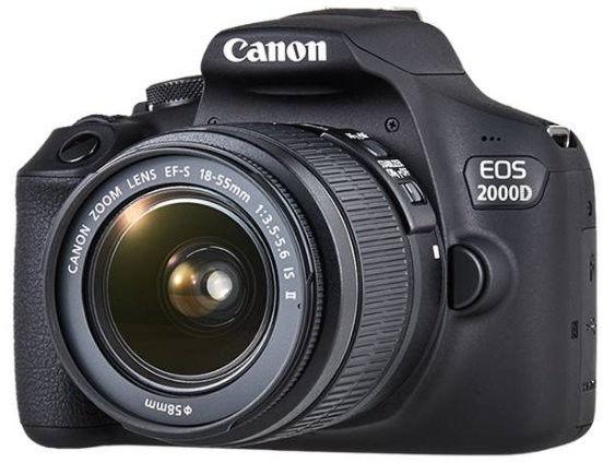 CANON EOS 2000D + 18-55 IS II DLA KAŻDEGO / WYSYŁKA GRATIS / RATY 0% / TEL. 500 005 235