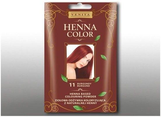Venita Henna Color ziołowa odżywka koloryzująca z naturalnej henny 11 Burgund