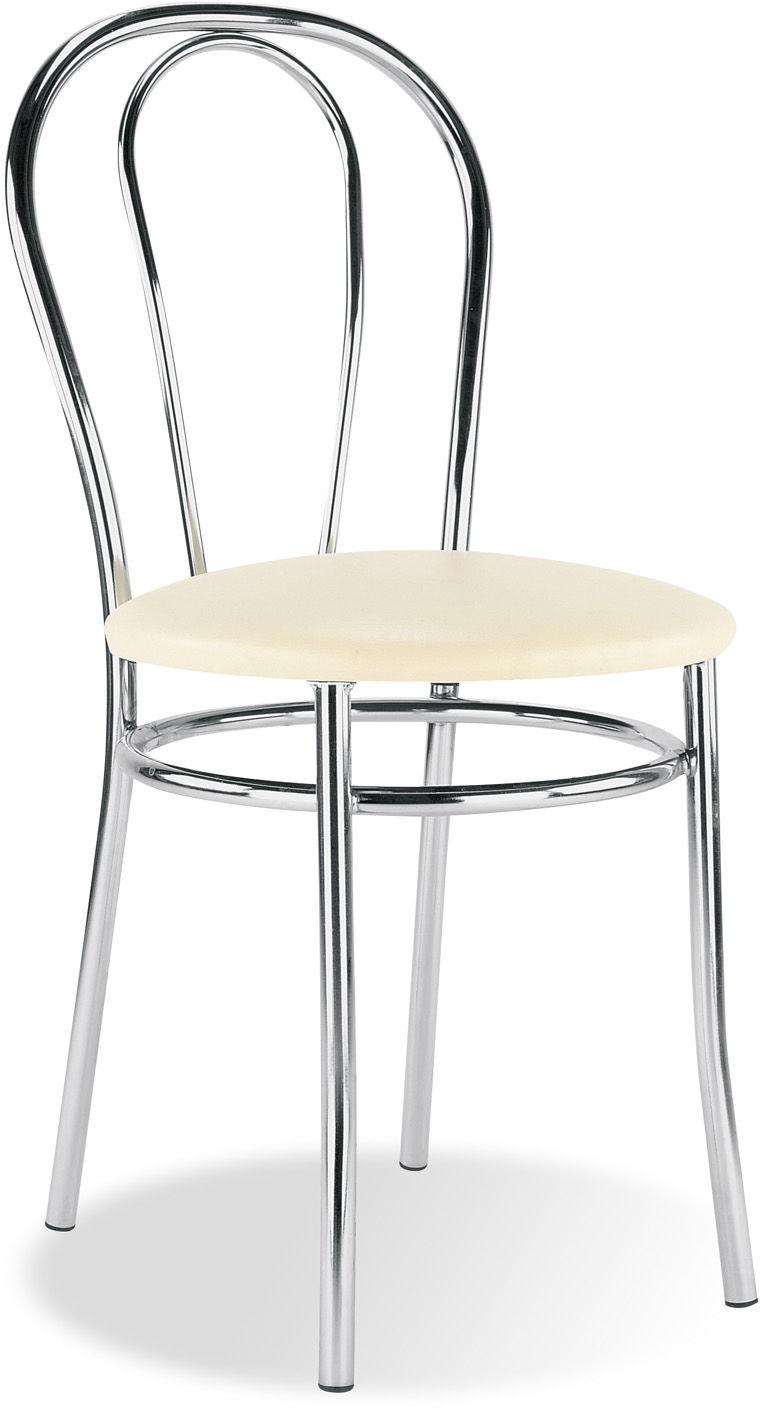 NOWY STYL Krzesło TULIPAN alu/black