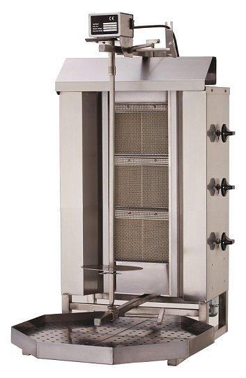 Gyros gazowy pojedyńczy 9750W 550x700x(H)960mm