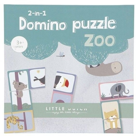 Little Dutch - Little Dutch Domino Zoo Ld4449