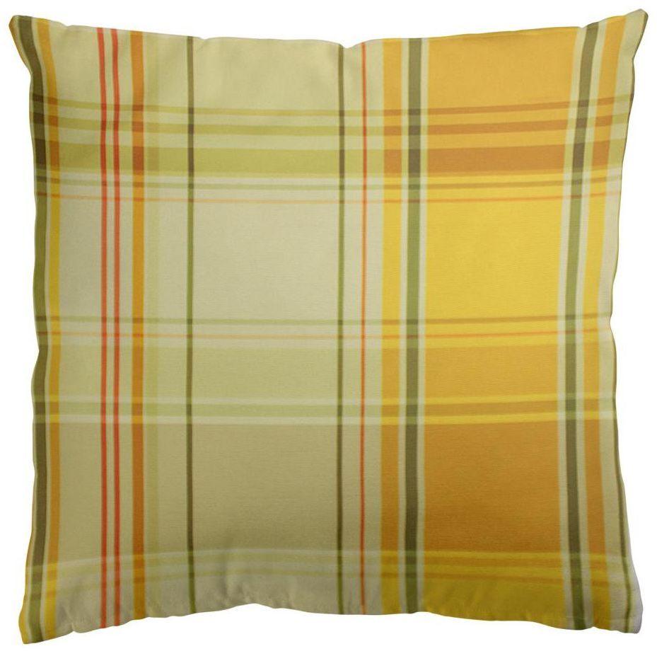 Poduszka Paul żółta 40 x 40 cm