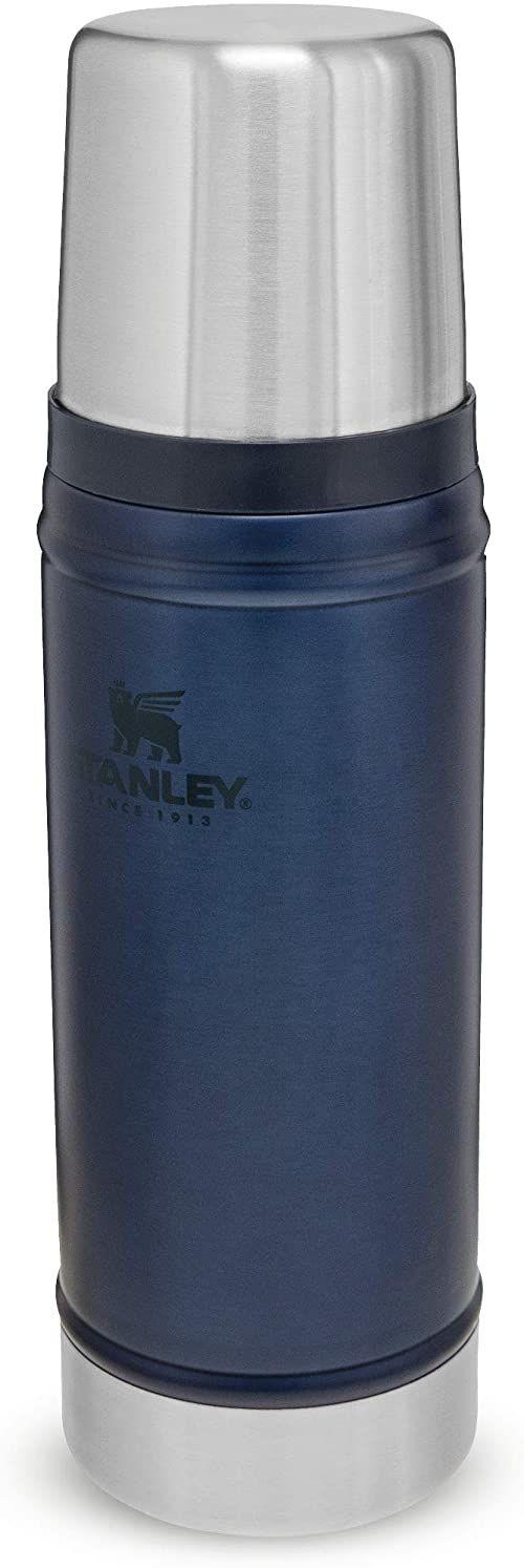 Stanley Classic Legendary Bottle 0.47L / 16OZ Nightfall  Termos ze Stali Nierdzewnej BEZ BPA - Utrzymuje zimno lub ciepło przez 15 godzin - Do Mycia w Zmywarce