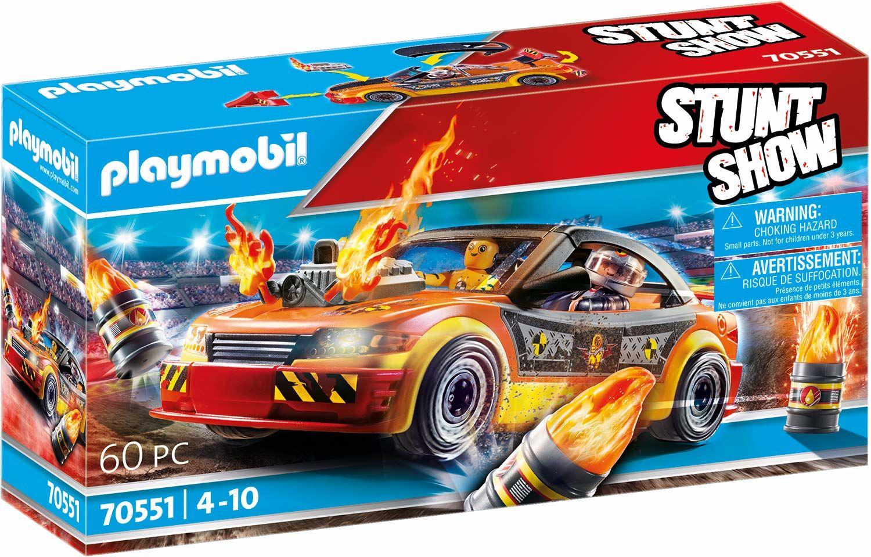 PLAYMOBIL Stund-Show 70551 Pokaz kaskaderski: Samochód kaskaderski, od 4 lat