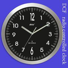 Zegar aluminiowy sterowany radiowo #2