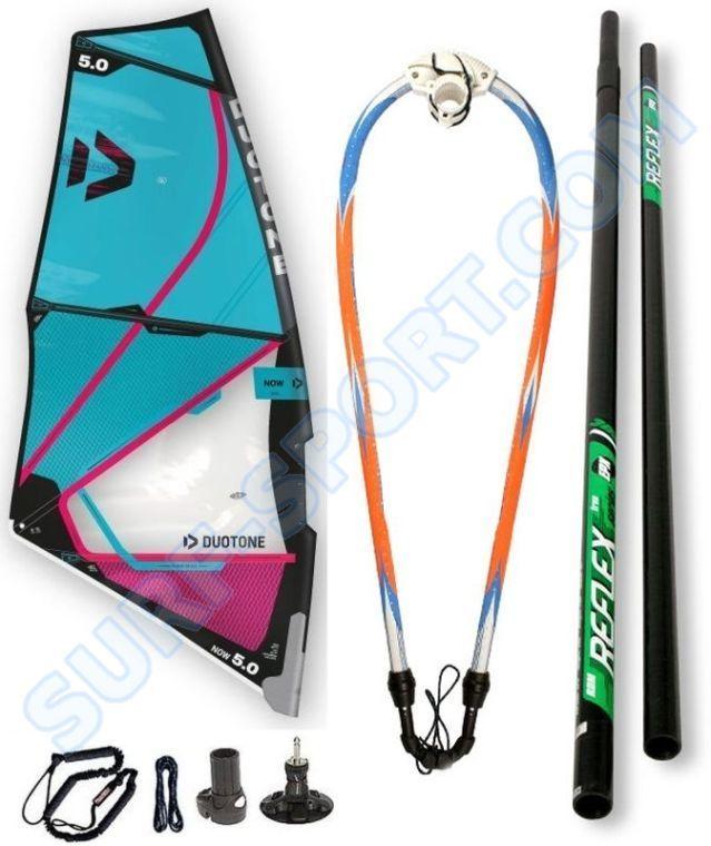 Żagiel-Cały Pędnik Do Deski Windsurfingowej, Wind SUP, Duotone NOW Youth Rig 2021