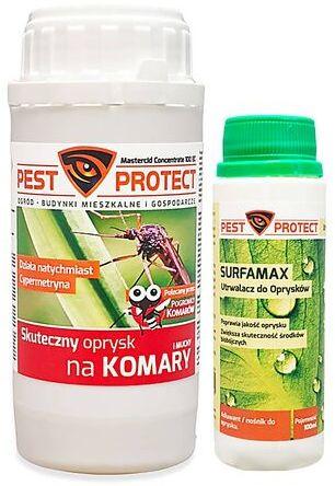 Oprysk na komary i kleszcze Pest Protect + utrwalacz Suframax