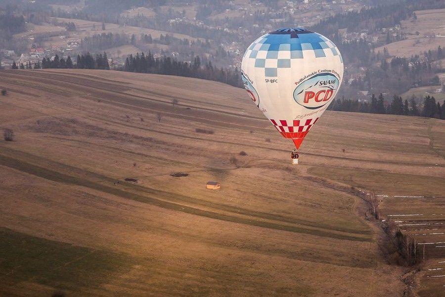 Romantyczny lot balonem dla dwojga - Zakopane