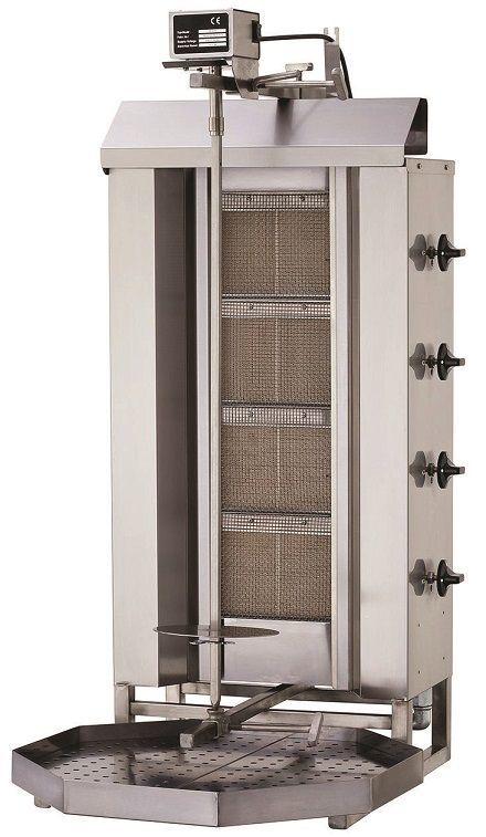 Gyros gazowy pojedyńczy 13000W 550x700x(H)1120mm