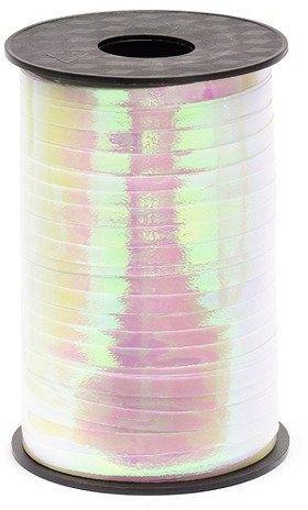 Wstążka plastikowa do balonów opalizująca 5mm 225m PRI5-017