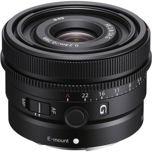 Obiektyw Sony SEL 24mm FE F2.8 G + Filtr B+W 49mm UV E - 30 RAT 0 %