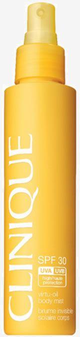 Clinique Virtu Oil Body Mist spray przeciwsłoneczny SPF30 144 ml