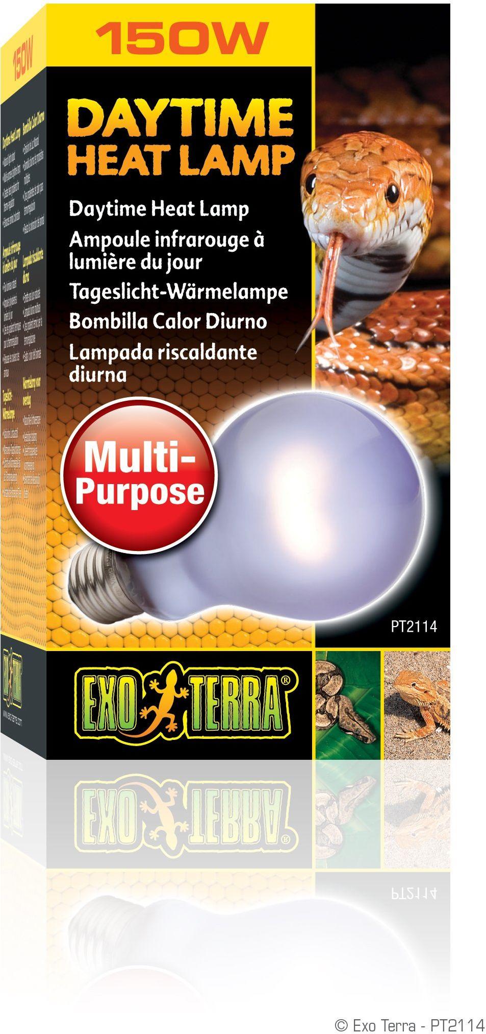 Exo Terra PT2114 lampa grzewcza do jazdy dziennej, 150 W