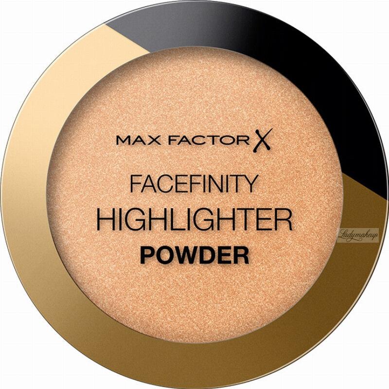 Max Factor - FACEFINITY - HIGHLIGHTER POWDER - Rozświetlacz do twarzy - 8 g - 003 - BRONZE GLOW