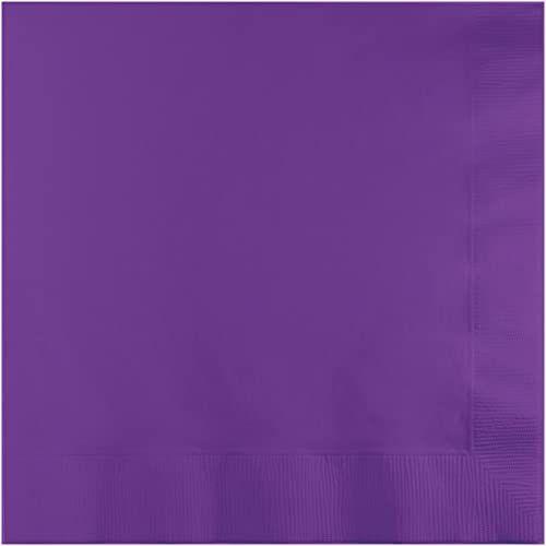 Creative Converting Serwetki obiadowe x 6,5 cala ametyst, akryl, wielobarwne, 1,63 x 6,35 x 6,34 cm